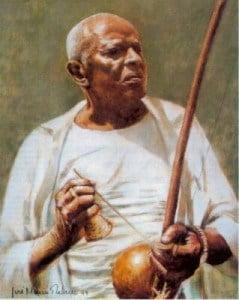 Mestre Bimba ao Berimbau