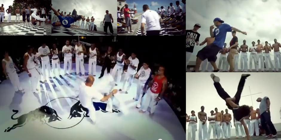 Vídeo BBoys e a capoeira