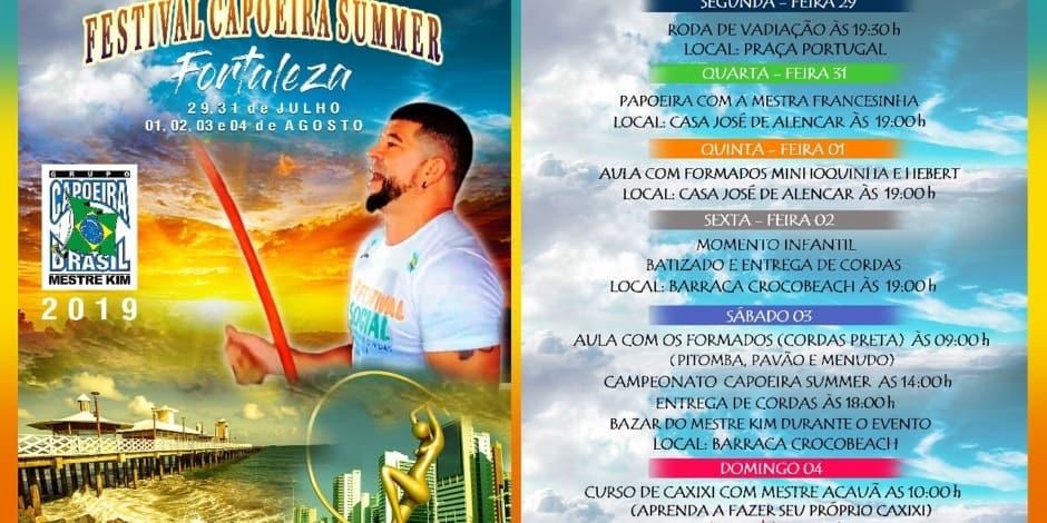 CAPOEIRA SUMMER E CAMPEONATO NORTE NORDESTE 2019